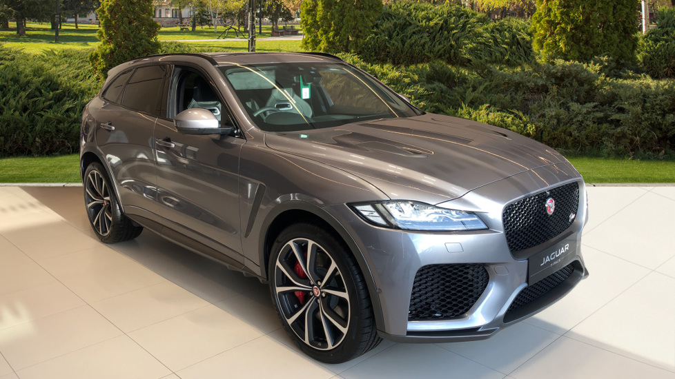 Jaguar F-PACE 5.0 Supercharged V8 SVR AWD Automatic 5 door Estate (20MY) image