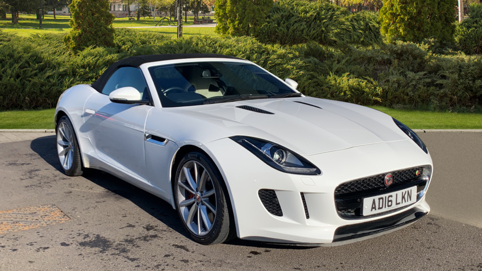 Jaguar F-TYPE 3.0 Supercharged V6 S 2dr Automatic Convertible (2018)