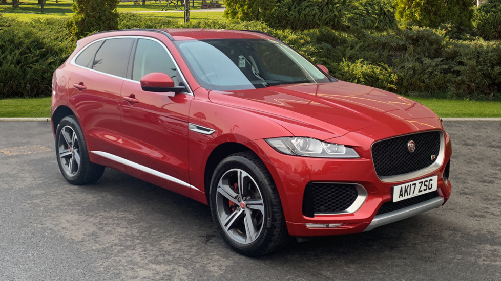 Jaguar F-PACE 3.0d V6 S 5dr AWD Diesel Automatic Estate (2017)