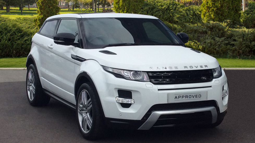 Land Rover Range Rover Evoque COUPE 2 2 SD4 Dynamic 3dr [Lux Pack] Diesel  Automatic 4x4 (2013) at Land Rover Barnet
