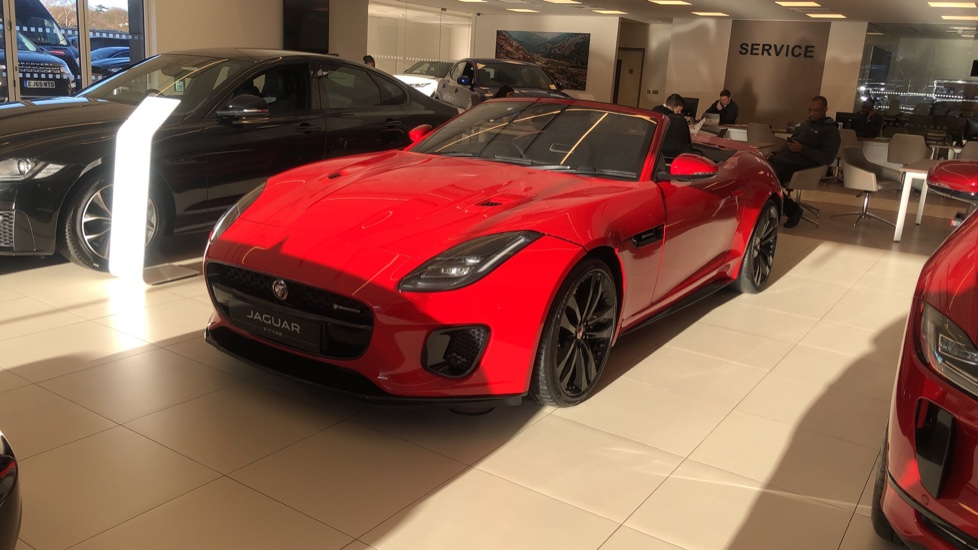 Jaguar F-TYPE 3.0 380 Supercharged V6 R-Dynamic AWD Automatic 2 door Convertible (20MY)