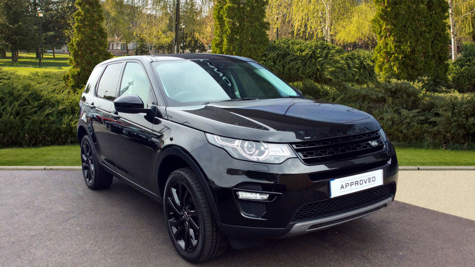 Land Rover Discovery Sport 2.0 TD4 180 HSE Black 5dr - Black Pack - Fixed Panoramic Roof - Privacy Glass -  Diesel Automatic 4x4 (2017) image
