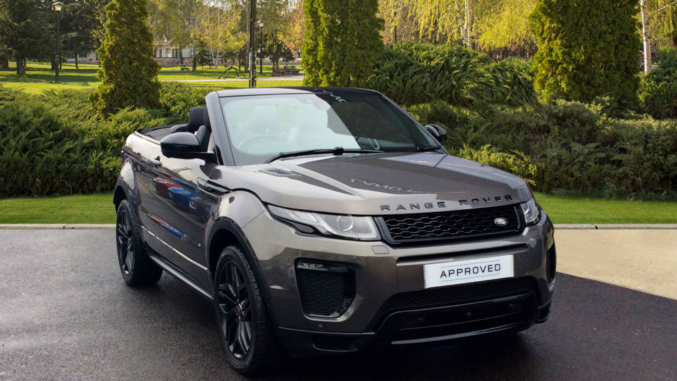 Land Rover Range Evoque 2 0 Td4 Hse Dynamic Lux 2dr Black Pack Sel Automatic Convertible 2017 At Barnet