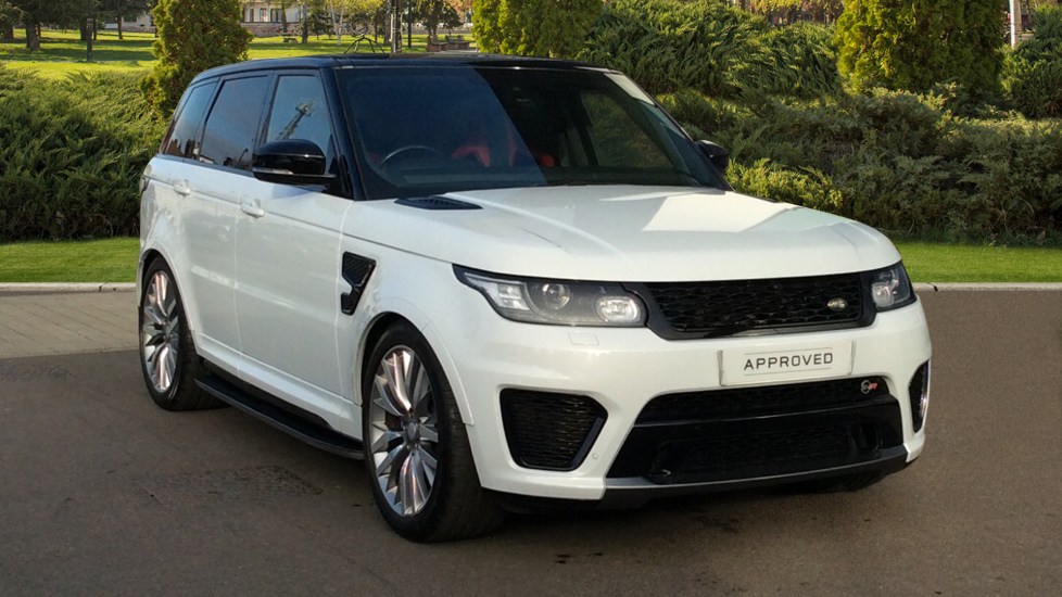 Land Rover Range Rover Sport 5.0 V8 S/C SVR 5dr - Fixed Side Steps - Sliding Panoramic Roof -  Automatic 4x4 (2015)