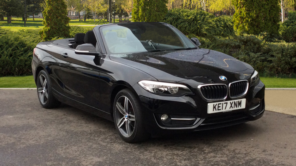 BMW 2 Series 218d [150] Sport 2dr [Nav] Step 2.0 Diesel Automatic 3 door Convertible (2017)