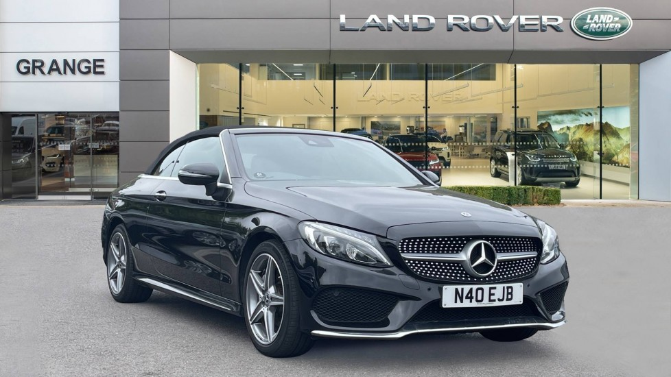Mercedes-Benz C-Class C200 AMG Line Parktronic and Airscarf 2.0 Automatic 2 door Cabriolet