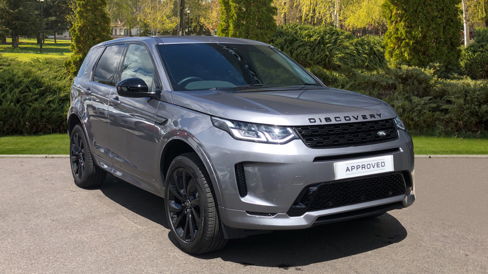 Land Rover Discovery Sport 2.0 D180 R-Dynamic S 5dr with panoramic roof and Ebony Morzine suede headlining Diesel Automatic Estate