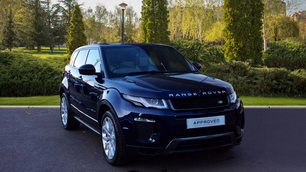Used Land Rover Range Rover Evoque Blue Cars For Sale Grange