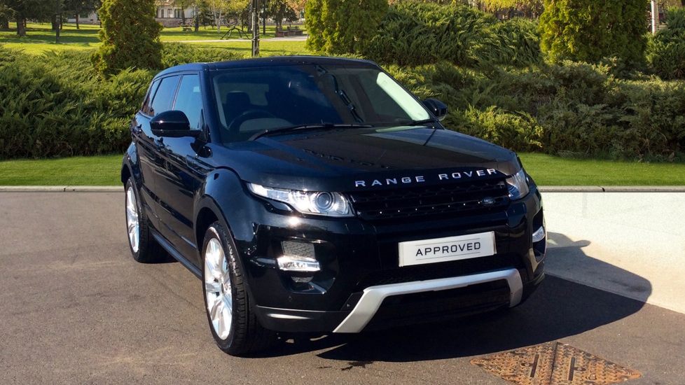 Land Rover Range Rover Evoque 2.2 SD4 Dynamic 5dr [9] [Lux Pack] Diesel Automatic 4x4 (2015)