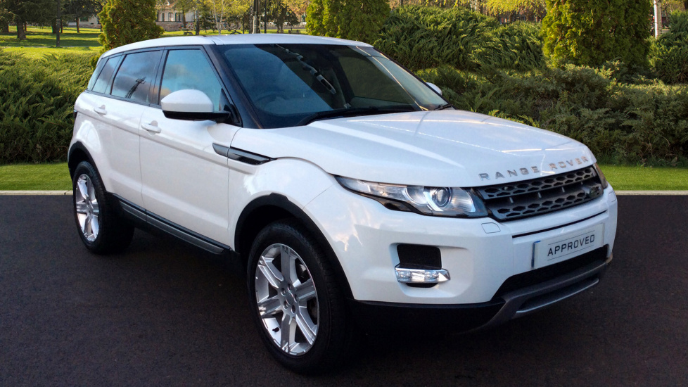 Land Rover Range Rover Evoque 2.2 SD4 Pure 5dr Auto [9] [Tech Pack] Diesel Automatic 4x4 (2014) image