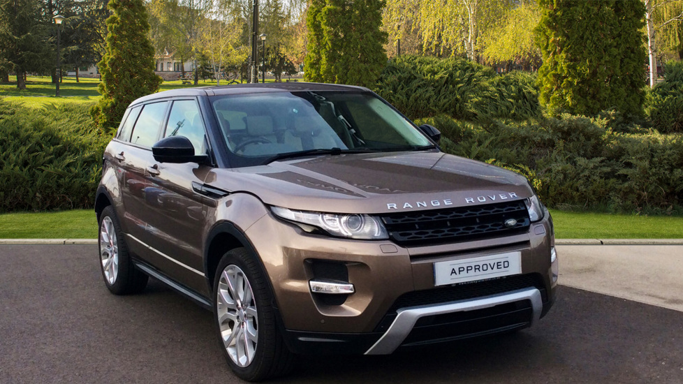f99ff1fbf7a95 Land Rover Range Rover Evoque 2.2 SD4 Dynamic 5dr  9   Lux Pack  Diesel  Automatic 4x4 (2015) at Land Rover Barnet