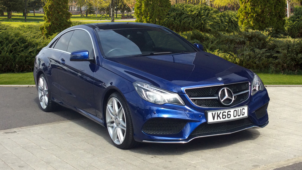 Mercedes-Benz E-Class E350d AMG Line Edition 2dr 9G-Tronic Coupe - Panoramic glass sunroof -  3.0 Diesel Automatic 5 door (2016) image