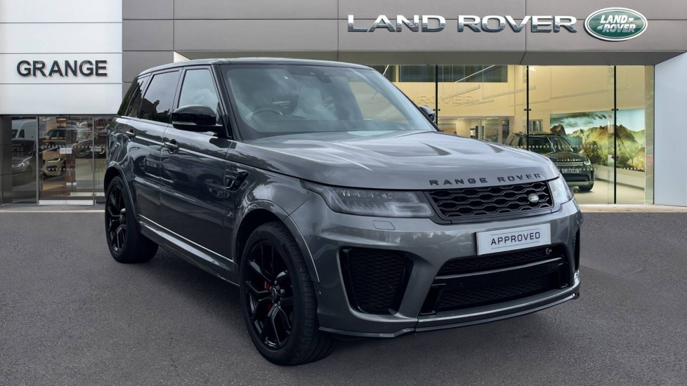 Land Rover Range Rover Sport 5.0 V8 S/C 575 SVR Fixed panoramic roof and Meridian Surround Sound System 825W Automatic 5 door Estate image