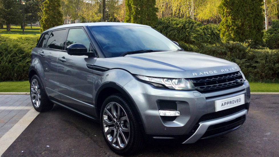 Land Rover Range Rover Evoque 2.2 SD4 Dynamic 5dr [9] Heated steering wheel and 8 inch Rear Seat Entertainment Diesel Automatic Hatchback