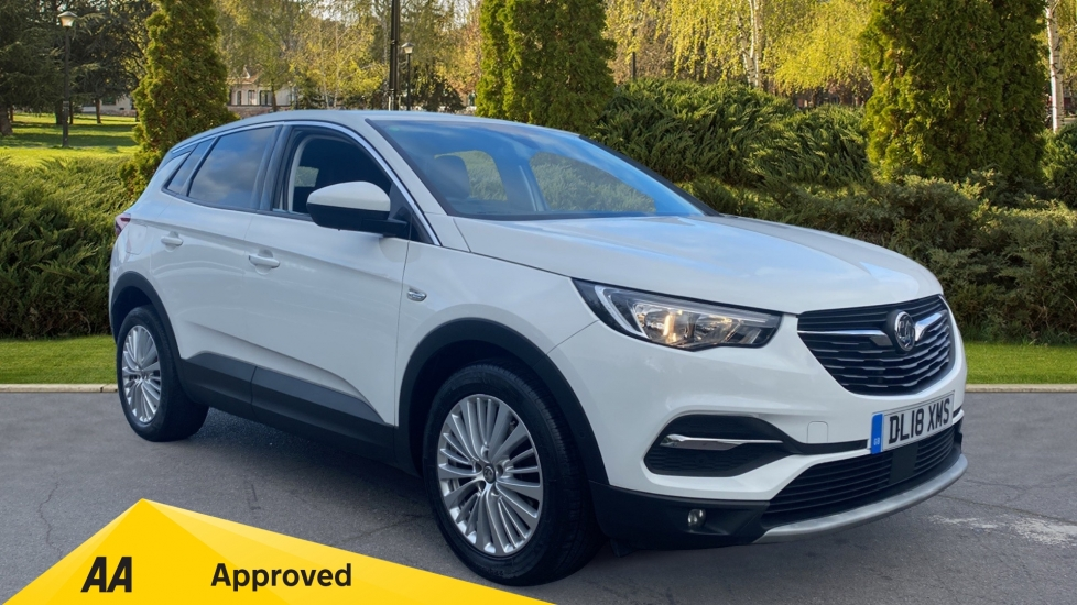Vauxhall Grandland X 1.6 Turbo D Sport Nav 5dr Diesel Hatchback (2018) available from Ford Ashford thumbnail image