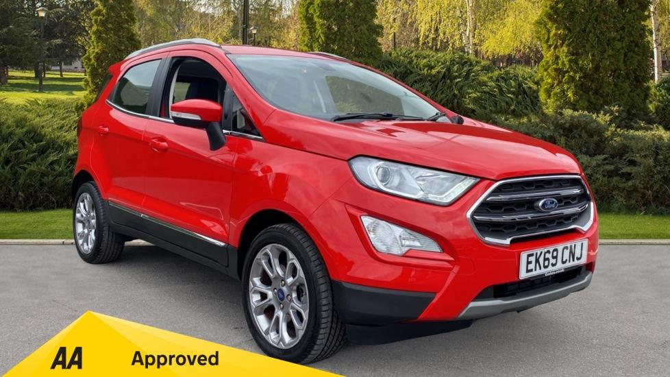 Ford EcoSport 1.0 EcoBoost 125 Titanium 5dr - Low Mileage, Sat Nav, Parking Sensor/Reverse Camera Hatchback (2019)
