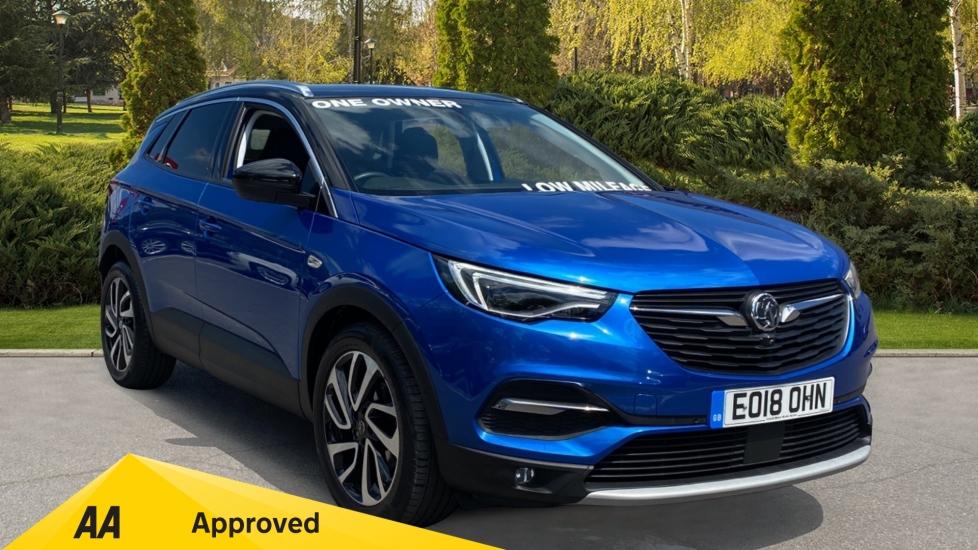 Vauxhall Grandland X 1.2 Turbo Elite Nav 5dr - Sat Nav, Parking Sensor, Bluetooth & Cruise Control Hatchback (2018) image