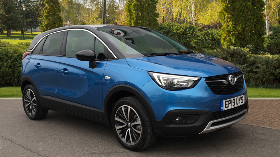 Vauxhall Crossland X 1.2T [110] Elite [Start Stop] Automatic 5 door Hatchback (2019)