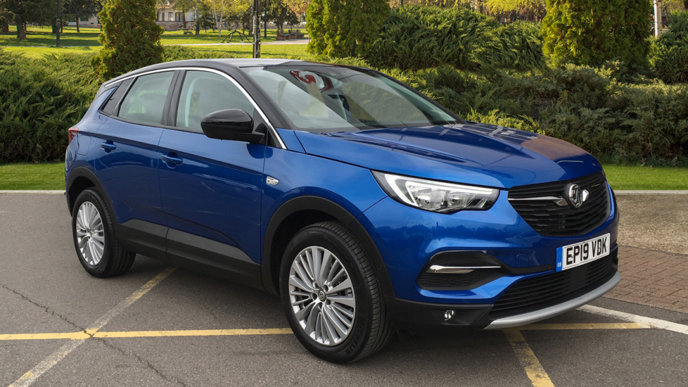Vauxhall Grandland X 1.2T Sport Nav 5dr Hatchback (2019) at County Motor Works Vauxhall thumbnail image