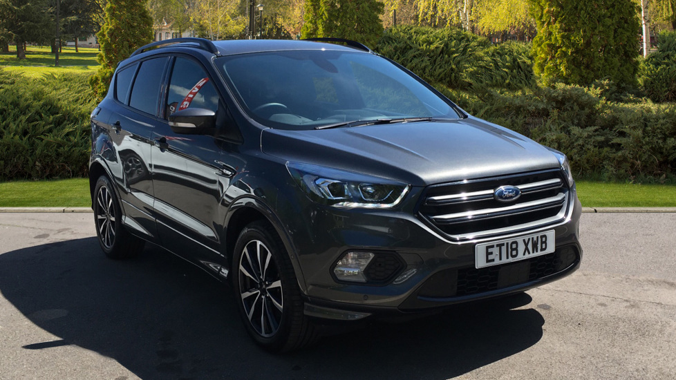 Ford Kuga 2.0 TDCi ST-Line 2WD Diesel 5 door Estate (2018) at County Motor Works Vauxhall thumbnail image