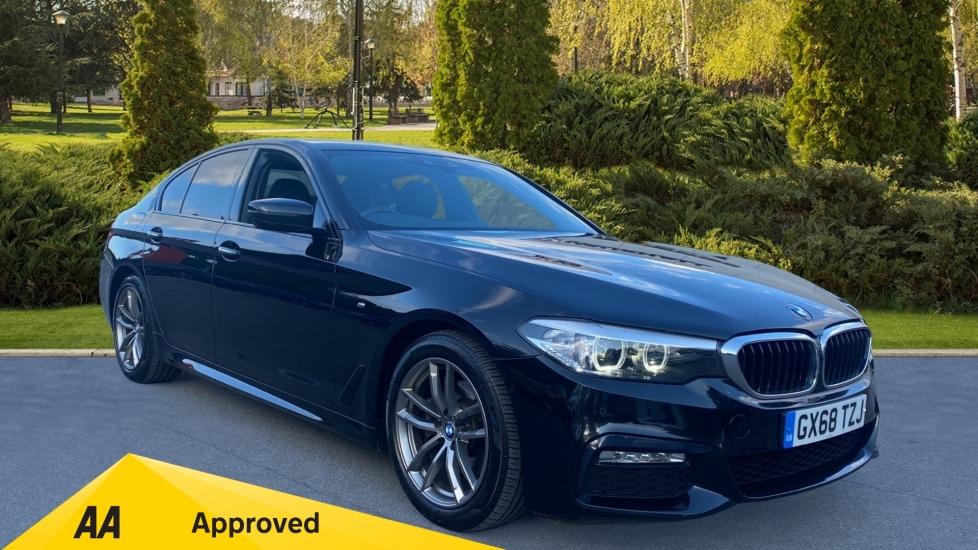 BMW 5 Series 520d M Sport - Metallic Paintwork & Sun Protection Glass 2.0 Diesel Automatic 4 door Saloon (2018) image