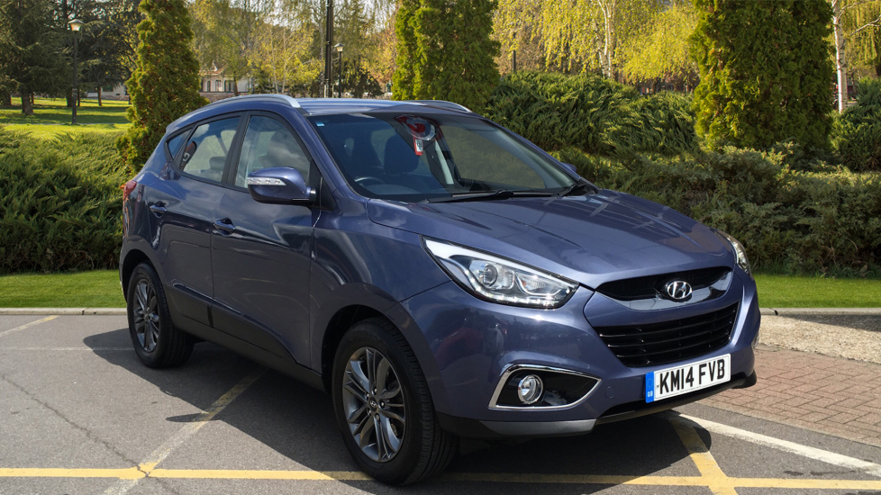 Hyundai IX35 2.0 CRDi SE Nav 5dr Diesel Automatic Estate (2014) available from Preston Motor Park Fiat and Volvo thumbnail image