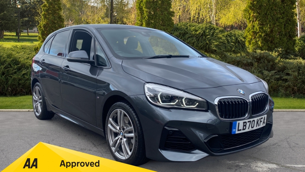 BMW 2 Series 225xe M Sport - Hybrid, Satellite Navigation, Parking Sensors & Cruise Control 1.5 Petrol/Electric Automatic 5 door Hatchback (2020) image