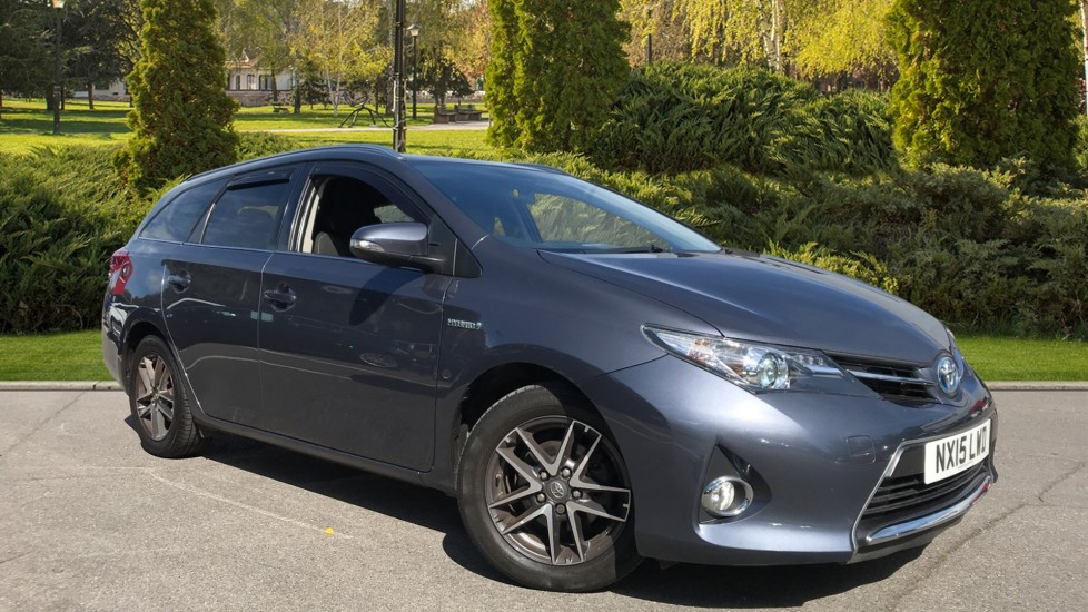 Toyota Auris 1.8 VVTi Hybrid Icon+ 5dr CVT Petrol/Electric Automatic Estate (2015)