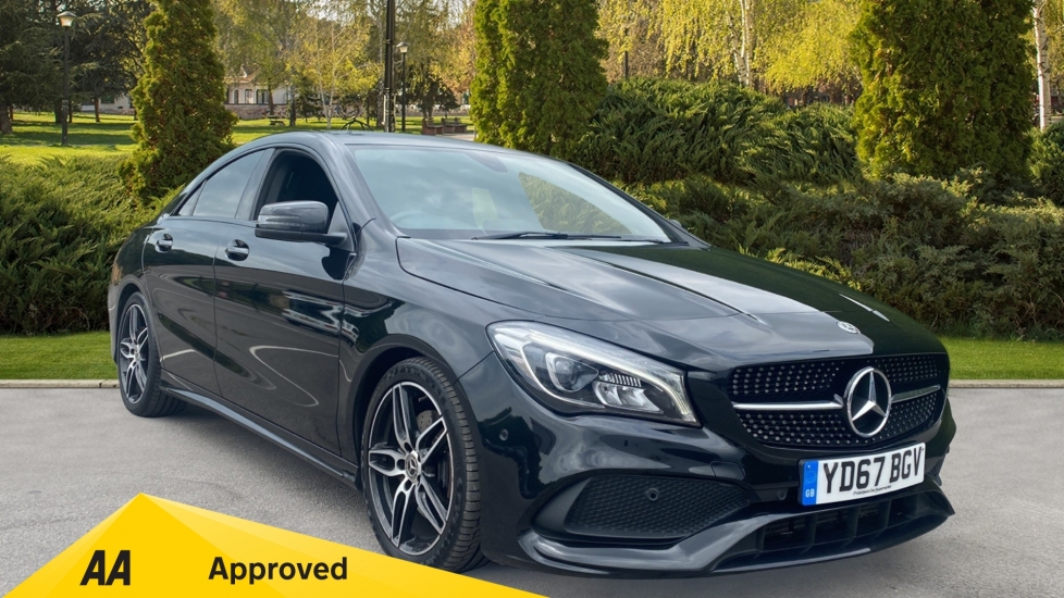 Mercedes-Benz CLA-Class CLA 220d AMG Line Tip - Part Leather Upholstery & 18in AMG 5 Twin Spoke Alloy Wheels 2.1 Diesel Automatic 4 door Saloon (2017) image