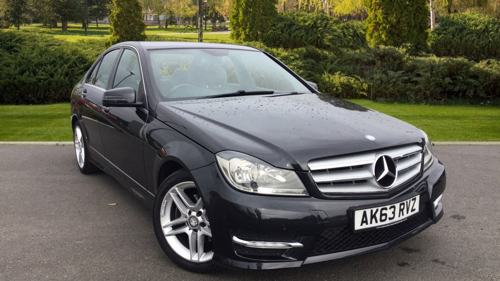 Mercedes-Benz C-Class C180 BlueEFFICIENCY AMG Sport 4dr 1.6 Saloon (2013) available from County Motor Works Vauxhall thumbnail image