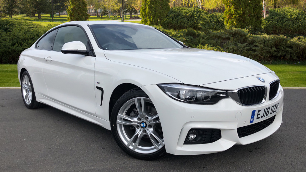 BMW 4 Series 420i M Sport 2dr [Professional Media] 2.0 Automatic Coupe (2018)