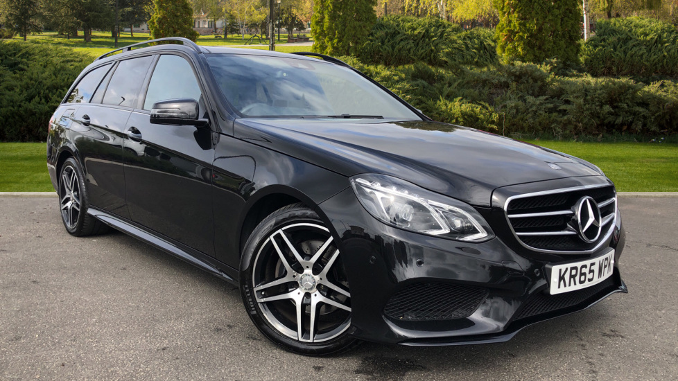 Mercedes-Benz E-Class E220 BlueTEC AMG Night Ed Premium 5dr 7G-Tronic 2.1 Diesel Automatic Estate (2015) image