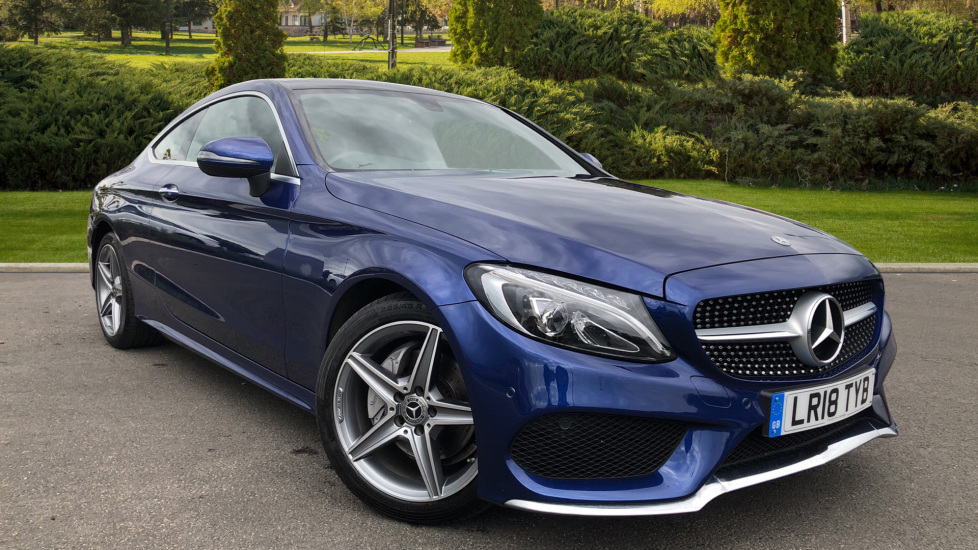 Mercedes-Benz C-Class C200 AMG Line Premium 2dr 9G-Tronic 2.0 Automatic Coupe (2018) available from County Motor Works Vauxhall thumbnail image
