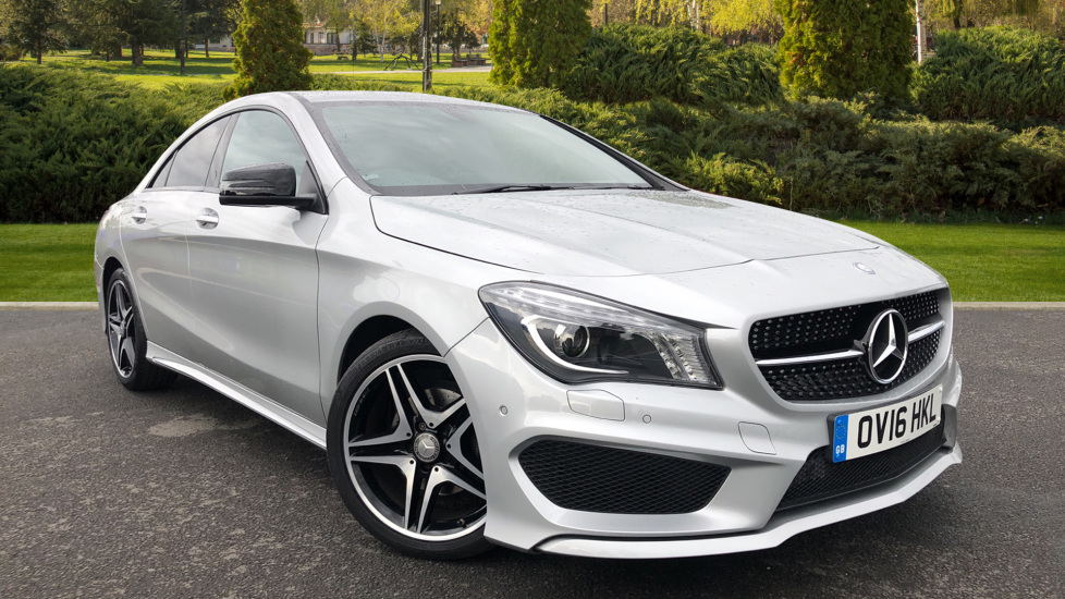 Mercedes-Benz CLA-Class CLA 180 AMG Sport Tip 1.6 Automatic 4 door Saloon (2016)
