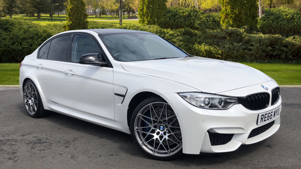 BMW M3 Competition Package DCT 3.0 Automatic 4 door Saloon (2016) available from Lamborghini Chelmsford thumbnail image