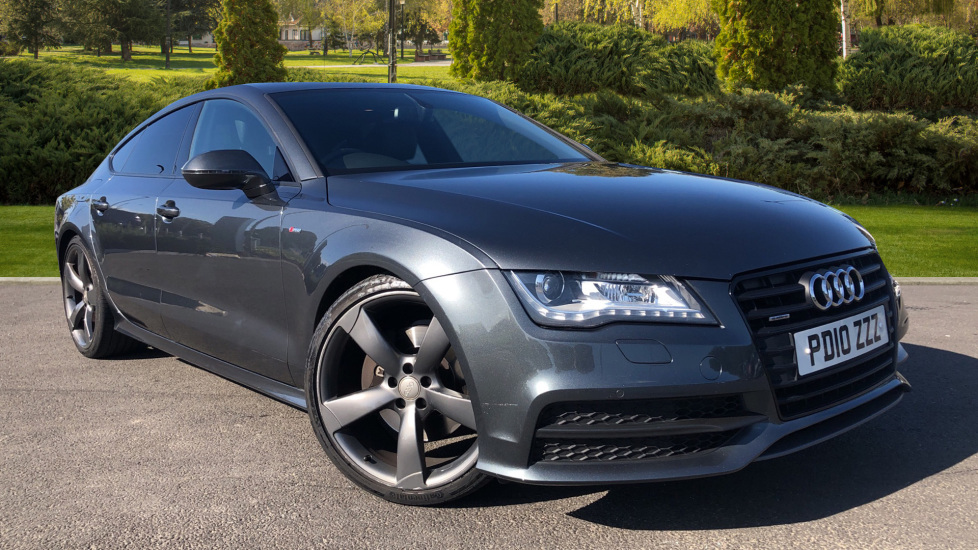 Audi A7 3.0 TDI Quattro Black Ed 5dr Tip [5 Seat] Diesel Automatic Hatchback (2012) image