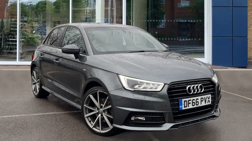 Used Audi A1 Hatchback 1.6 TDI Black Edition Sportback S Tronic (s/s) 5dr