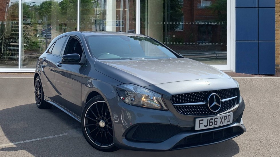 Used Mercedes-benz A Class Hatchback 1.6 A180 AMG Line (s/s) 5dr
