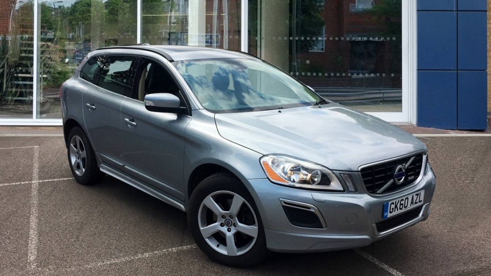 Used Volvo XC60 SUV 2.4 D5 R-Design Geartronic AWD 5dr