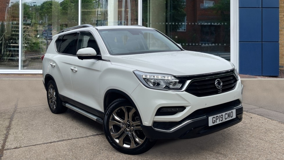 Used Ssangyong Rexton SUV 2.2D Ultimate T-Tronic 4WD 5dr
