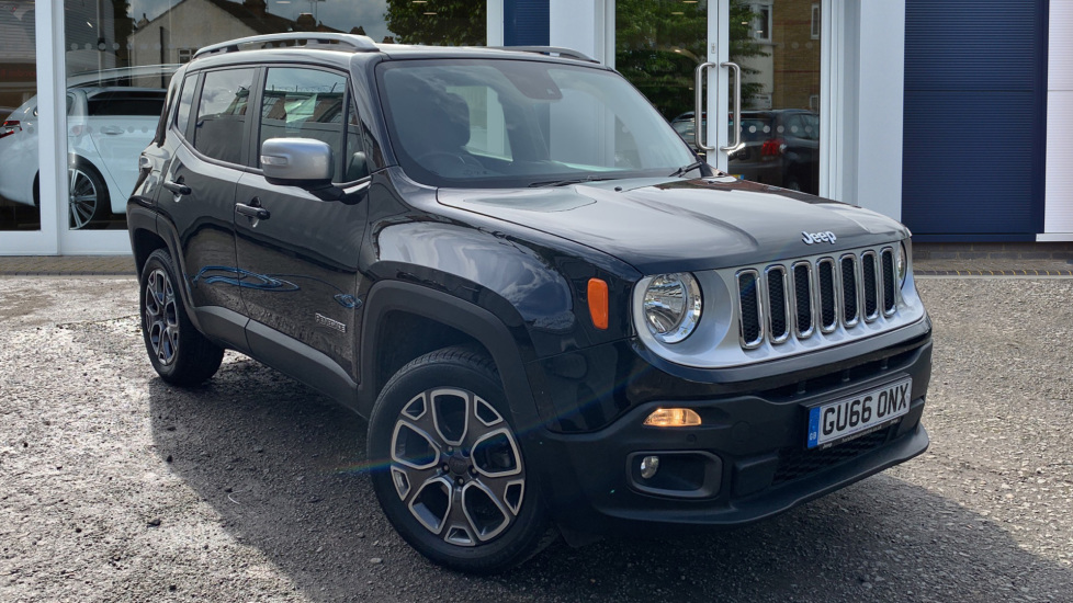 Used Jeep Renegade SUV 2.0 MultiJetII Limited 4WD (s/s) 5dr