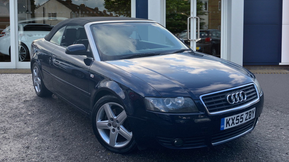 Used Audi A4 Cabriolet Convertible 1.8 T Sport Cabriolet 2dr