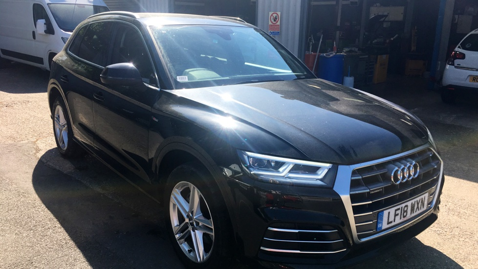 Used Audi Q5 SUV 2.0 TFSI S line S Tronic quattro (s/s) 5dr