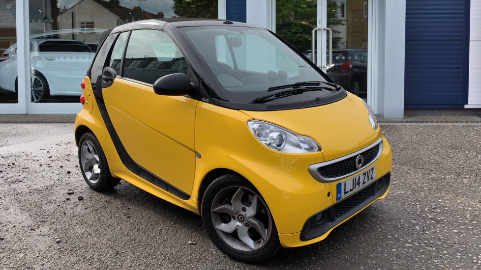 Used Smart fortwo Convertible 1.0 MHD Pulse Cabriolet Softouch 2dr