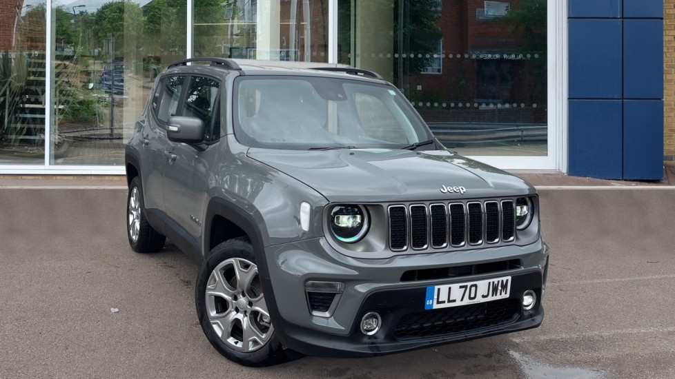 Used Jeep Renegade SUV 1.3 GSE T4 11kWh Limited Auto 4xe (s/s) 5dr