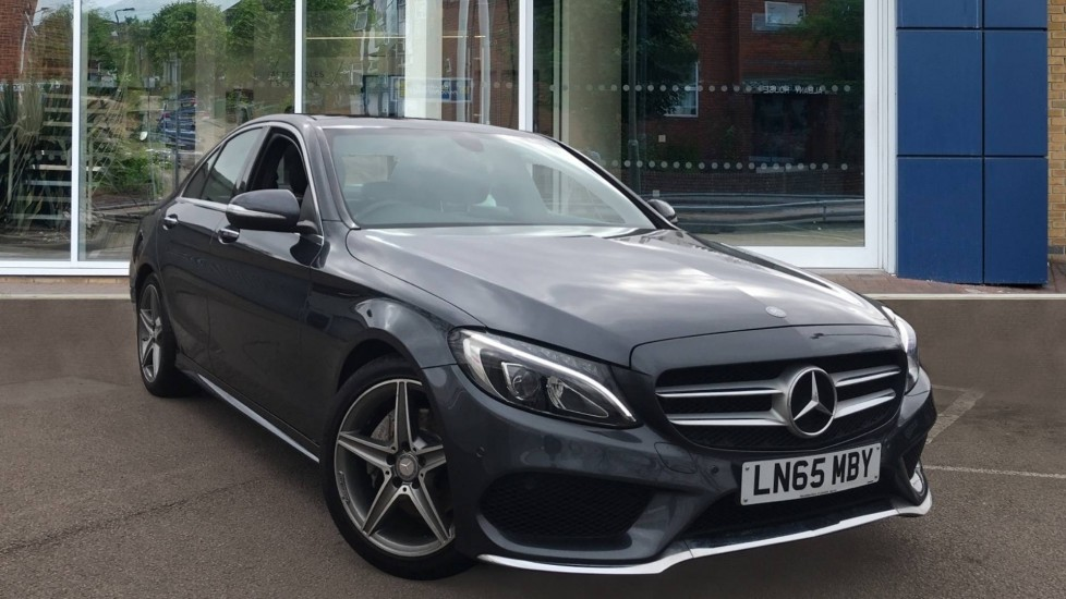 Used Mercedes-benz C Class Saloon 2.1 C220d AMG Line (Premium) 7G-Tronic+ (s/s) 4dr