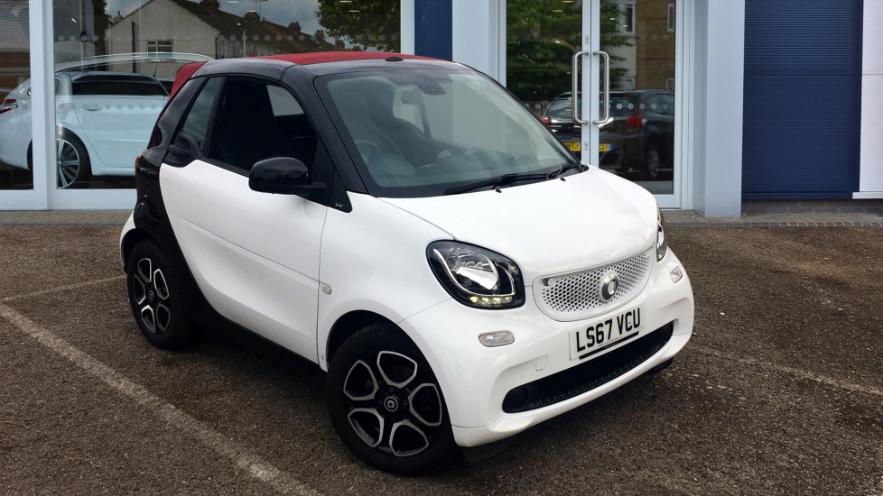 Used Smart fortwo Convertible 1.0 Prime Cabriolet Twinamic (s/s) 2dr