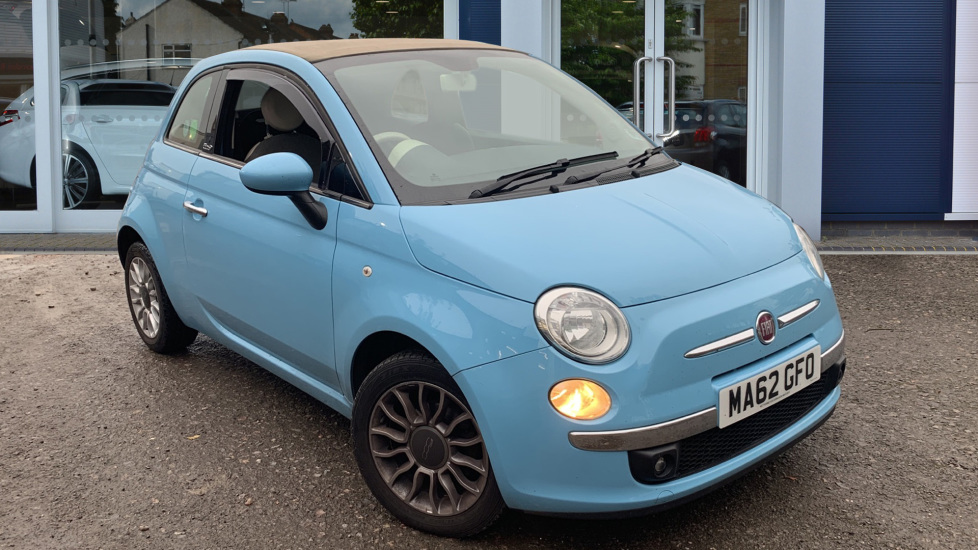 Used Fiat 500C Convertible 1.2 Lounge 2dr