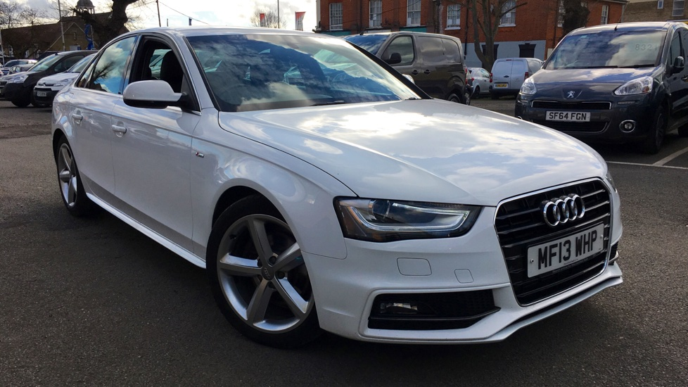 Used Audi A4 Saloon 1.8 TFSI S line 4dr