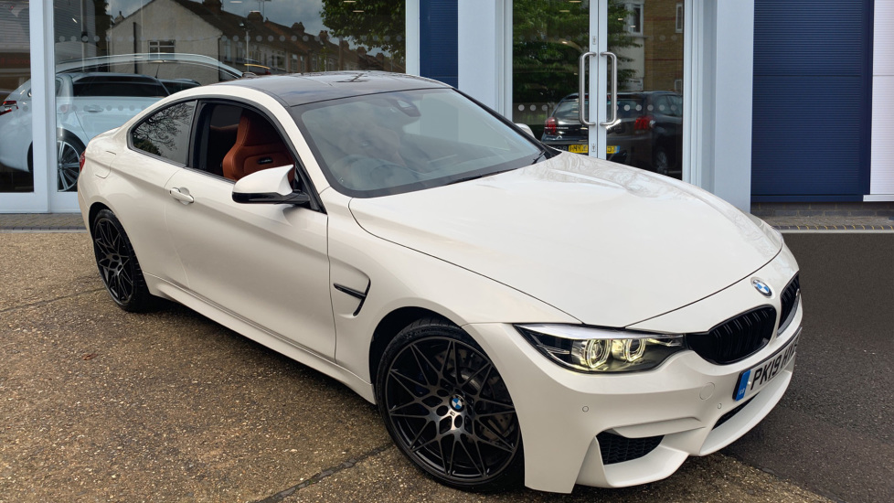 Used BMW M4 Coupe 3.0 BiTurbo Competition DCT (s/s) 2dr